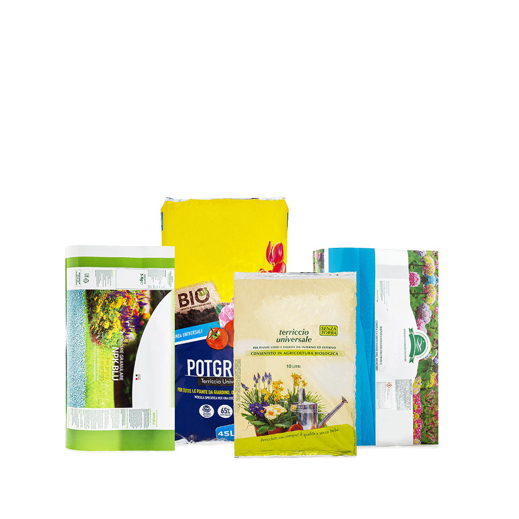 FERTILIZER AND SOILS BAGS AND ROLLS